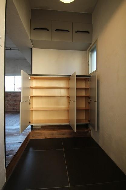 大和屋308玄関収納オープン